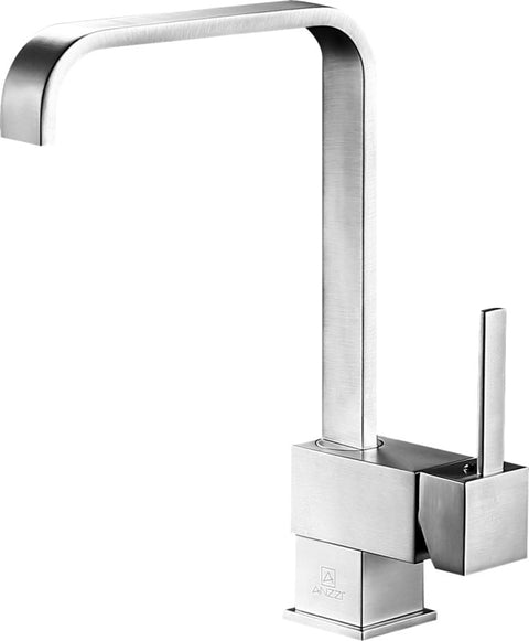 Sabre Single-Handle Standard Kitchen Faucet in Brushed Nickel