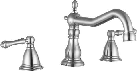 Highland 8 in. Widespread 2-Handle Bathroom Faucet in Brushed Nickel