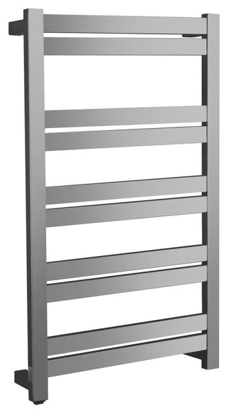 Malibu Series 10-Bar Stainless Steel Wall Mounted Towel Warmer in Brushed Nickel