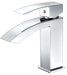 Revere Single Handle Bathroom Sink Faucet in Polished Chrome