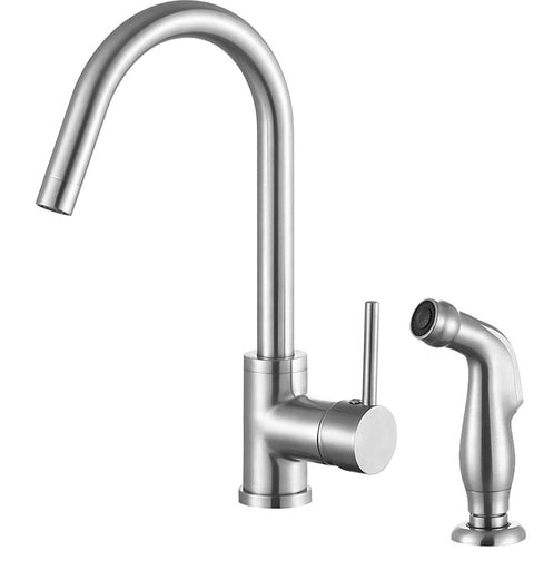 Farnese Single-Handle Standard Kitchen Faucet in Brushed Nickel