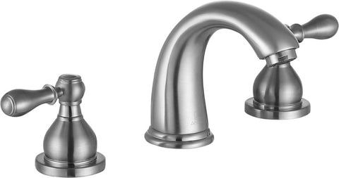 Raider 8 in. Widespread 2-Handle Bathroom Faucet in Brushed Nickel