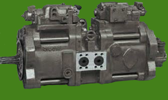 Link-Belt Excavator 3400Q Hydraulic Main Pump Repair