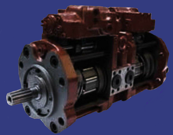 Komatsu Excavator PC 150-5 Hydraulic Main Pump Repair