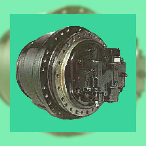 Link-Belt Excavator LS5800 Travel Motor Repair