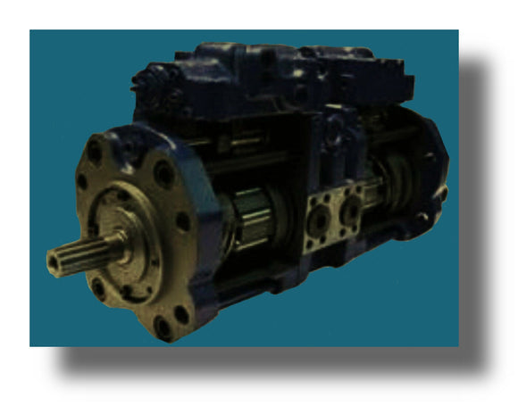 Link-Belt Excavator LS270CII Main Pump Repair