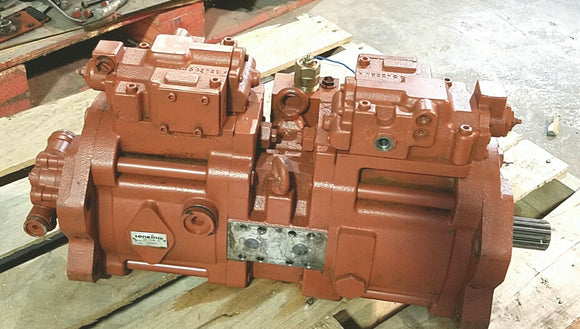 Link-Belt Excavator LS4300 Hydrostatic Main Pump Repair