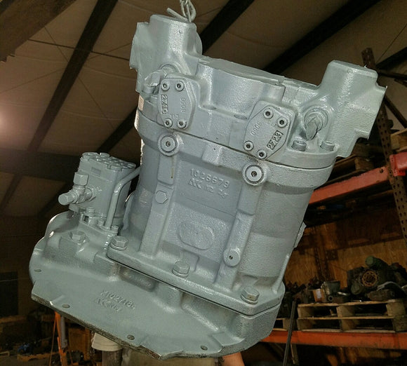 Hitachi Excavator EX 120 Hydraulic Pump Repair