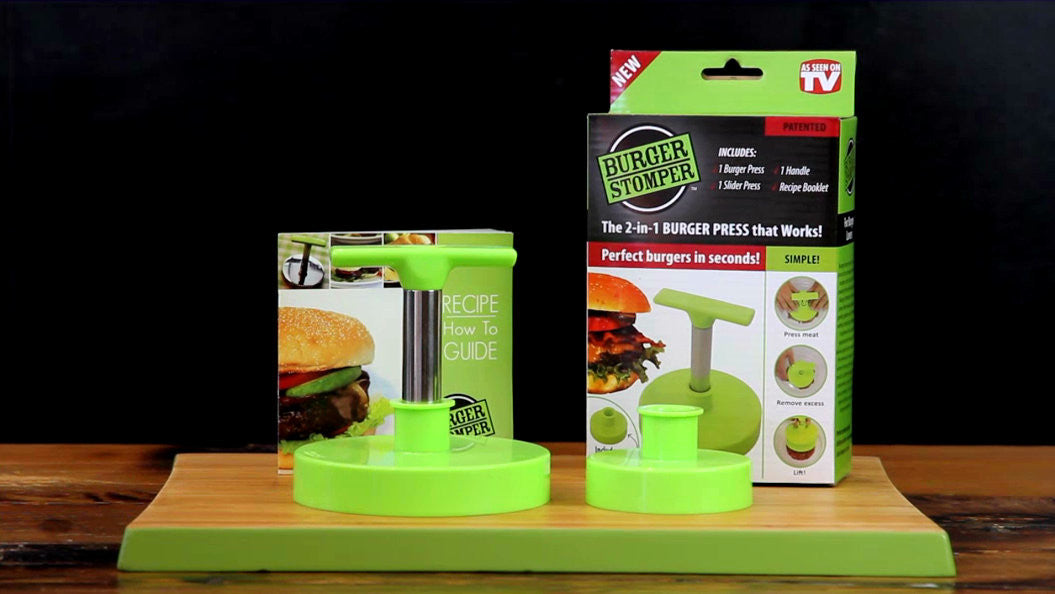 Burger Stomper 2-in-1 burger and slider press