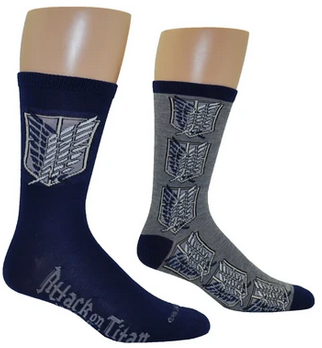 Attack on Titan Scout Regiment Socks