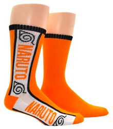 Naruto Shippuden Athletic Crew Socks