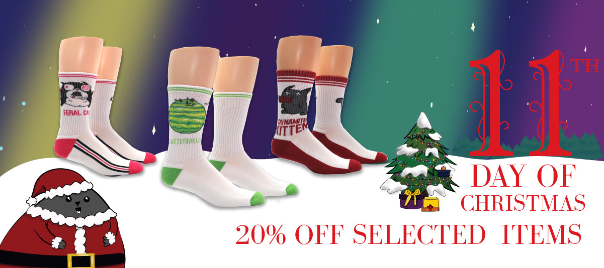 Everything Legwear socks Day 11 Christmas Anime Entertainment Fashion Gaming Wholesale sale