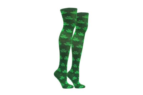 ESOCKS St. Patrick's Day Over The Knee Ladies Socks