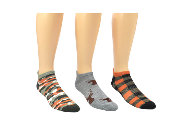 Sock House Co. Men's Hunting 3 Pair Pack Lowcut Socks