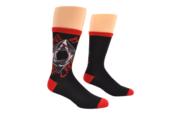 Assassin's Creed Live By The Creed Crew Socks