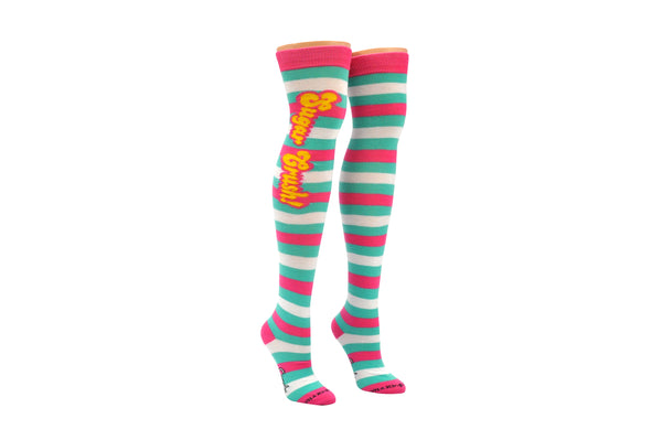 Candy Crush Sugar Crush Rugby Over The Knee Socks