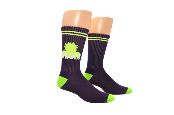 Dragon Ball Super Broly Athletic Crew Sock