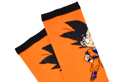 Dragon Ball Z Goku Chibi Athletic Crew Socks