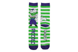 Dragon Ball Z Chibi Piccolo Stripe Crew Socks