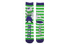 Chibi Piccolo Stripe Crew Socks