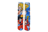 Dragon Ball Z Super Saiyan 360 Print Crew Socks