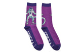 Dragon Ball Z Goku Kanji Frieza 2 Pair Pack of Crew Socks