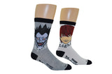 Ryuk and Light 2 Pair Pack Crew