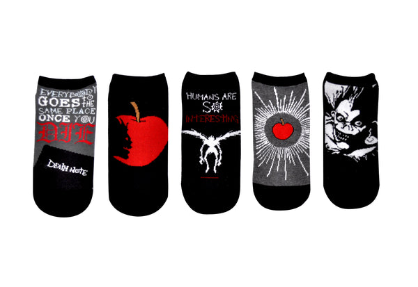 Ryuk 5 Pair Pack of Lowcut Socks