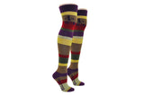 4th Doctor Stripe Over the Knee