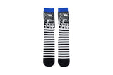 Doctor Who Dalek Stripe Crew Socks