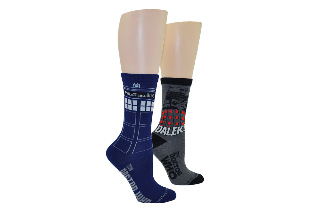 Everything Legwear Doctor Who-1 Pair Over The Knee High Socks-Size 4-10