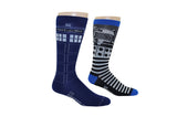 Tardis 2 Pair Pack Crew