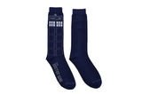 Doctor Who Tardis 2 Pair Pack of Crew Socks