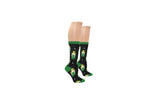 Everything Legwear St. Patrick's Day Overlapping Clovers Crew Sock