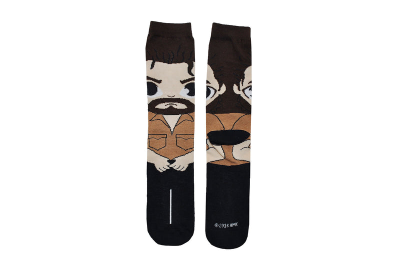 The Walking Dead Rick Full Body Chibi Crew Socks