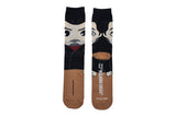 The Walking Dead Negan Chibi Bean Crew Socks