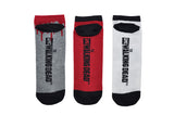 Walker 3 Pair Pack Lowcut Socks