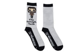 The Walking Dead Rick Chibi Crew Socks