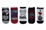The Walking Dead Socks - We Will Survive 5 Pair Pack Lowcut Socks