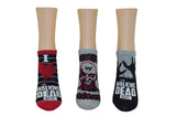 I Heart The Walking Dead Lowcut 3 Pair Pack