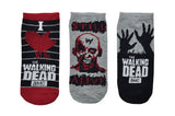 The Walking Dead I Heart The Walking Dead 3 Pair Pack of Lowcut Socks