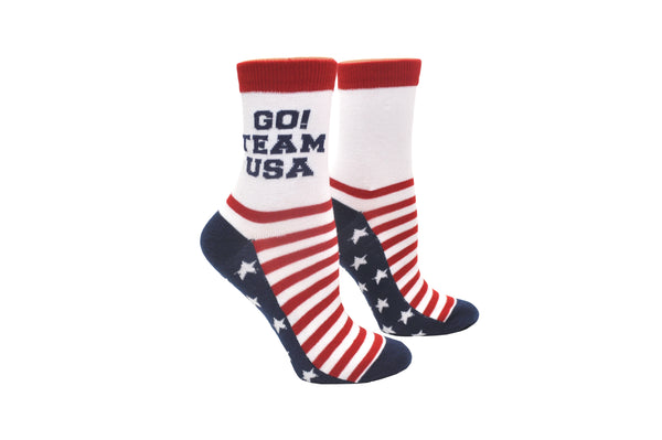 Sock House Co. Go Team USA Anklet Sock