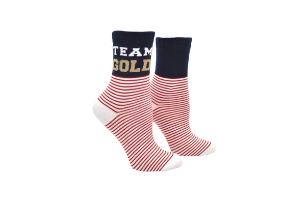 Sock House Co. Team Gold Anklet Sock