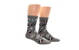 Felix The Cat Expressions Crew Socks
