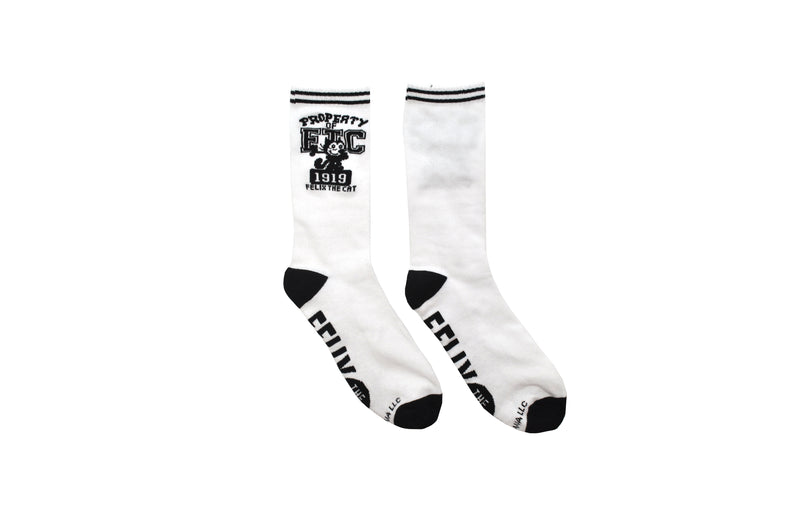 Felix The Cat Property Of Crew Socks
