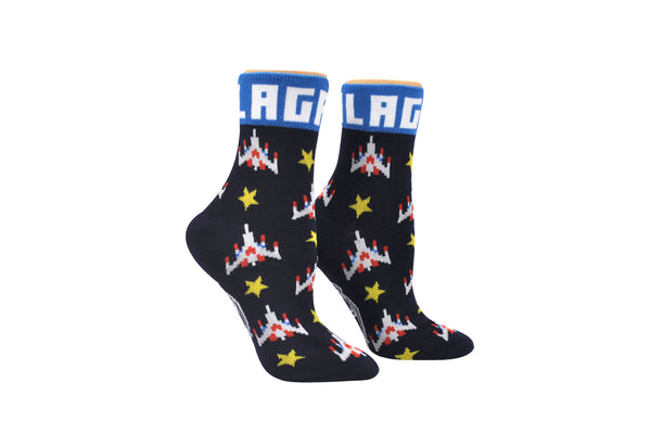 Galaga Anklet Sock