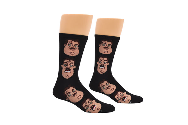 Hello Neighbor Vertical Neighbor Crew Socks