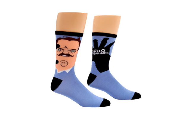 Hello Neighbor Crew Socks