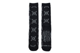Symbols 2 Pair Pack of Crew Socks