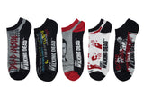 Dead Inside 5 Pair Pack of Lowcut Socks